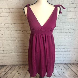 American Eagle Tie Shoulder Dress
